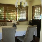 Updated dining room
